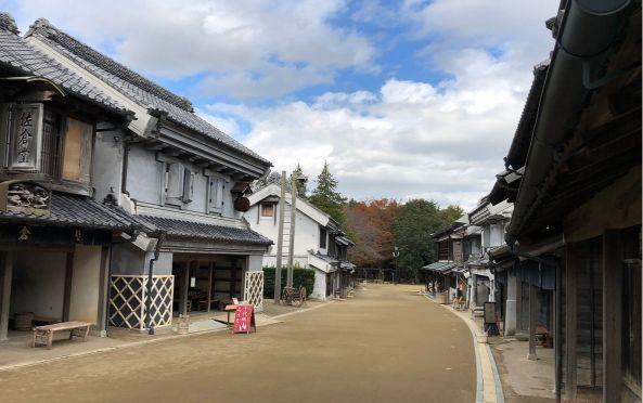 房総のむら旧い町並み
